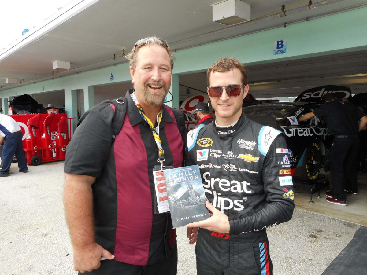 Mark with NASCAR