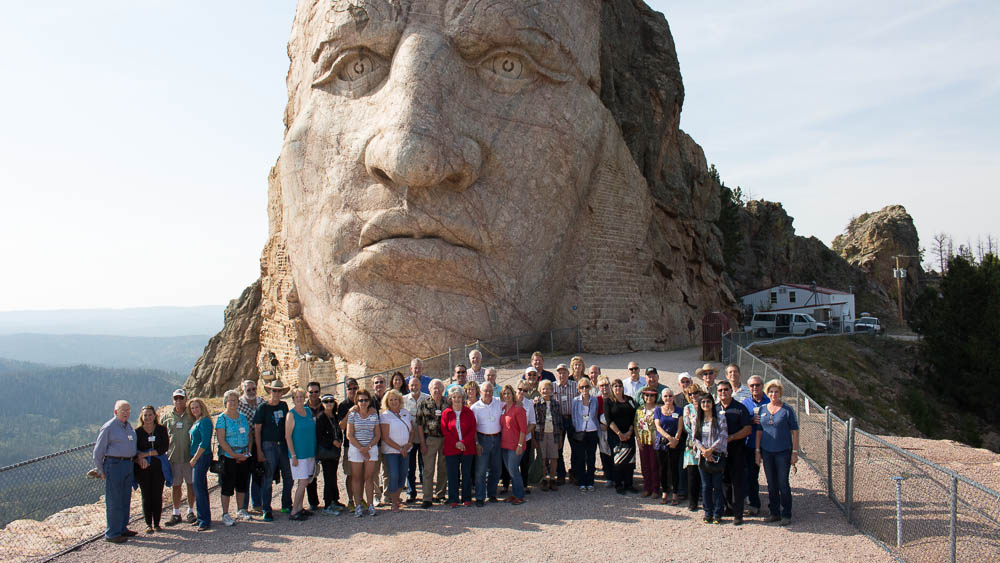Crazy Horse, S D  is Steeped in Native American History