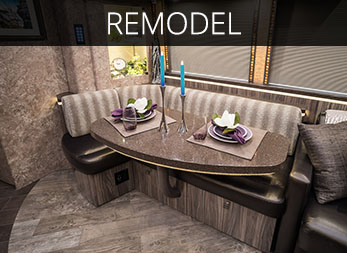 The same craftsmanship that builds custom coaches is available when you are looking to update and renovate