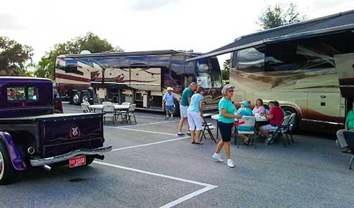 Events marathon coach for Florida grande motor coach resort