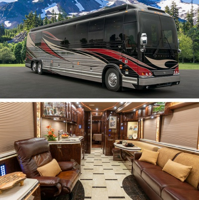 Prevost Motor Coach >> Prevost Bus Conversion Inventory Marathon Coach